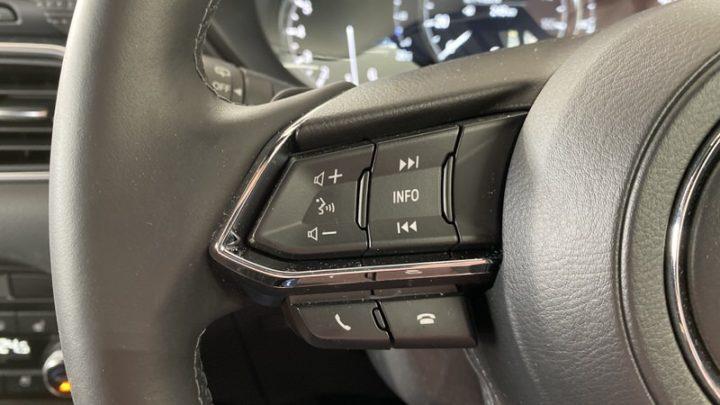 CarPlayは車載ボタンで操作できる