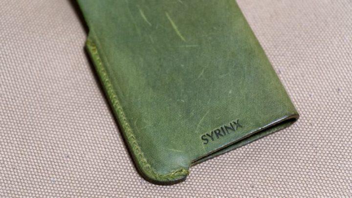 SYRINX「HASAMU」iPhoneケース 最小限な加工