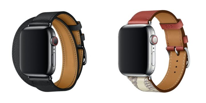 Apple Watchバンド「ドゥブルトゥールレザーストラップ」と「シンプルトゥールレザーストラップ」