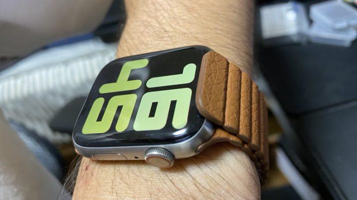Apple Watch レザーループのサイズ選びに失敗
