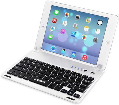 【Arteck】iPad miniがモバイルノート風に変身!挿し込みタイプのキーボード