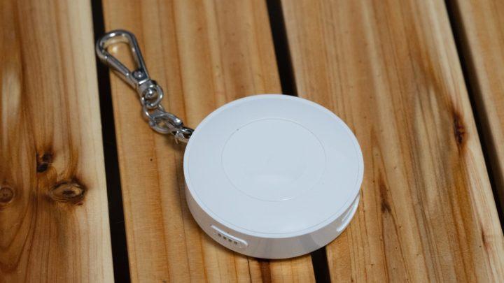 CHOETECHのキーホルダー型Apple Watchモバイルバッテリー