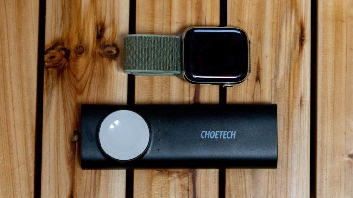 CHOETECHの5000mAh搭載モバイルバッテリー