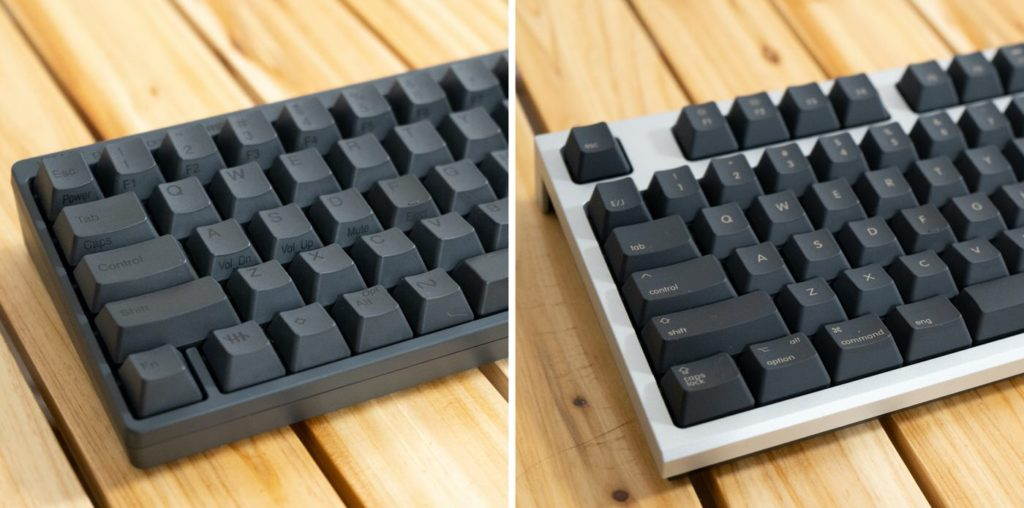 PFUの「HYBRID Type-S」とREALFORCE For Mac」どっちを選ぶ?