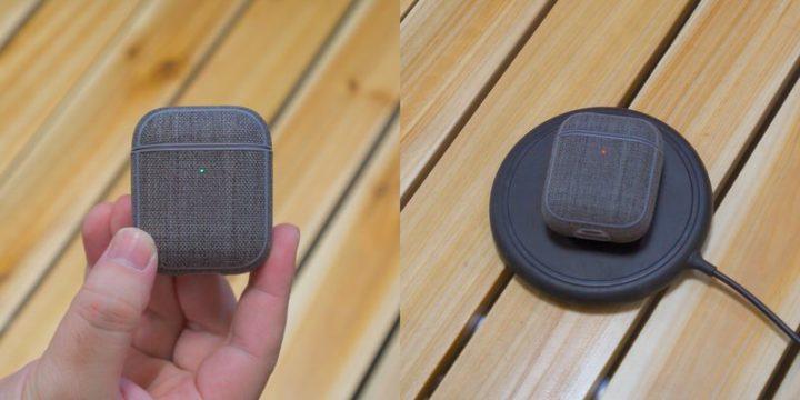 Incase AirPods保護ケースLEDランプが隠れず、ワイヤレス充電もOK