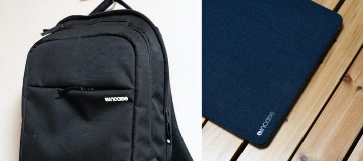 IncaseはバッグとMacBookケースでも愛用している