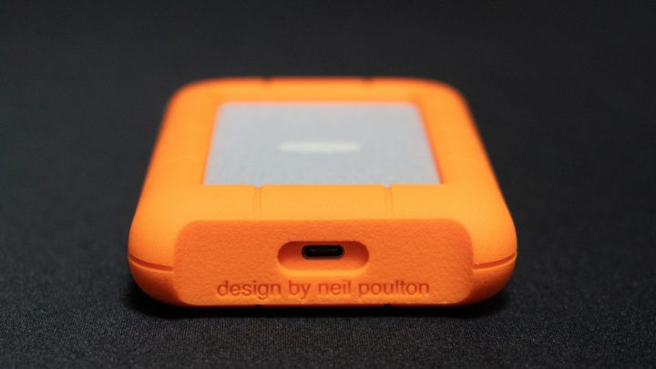 LaCie Rugged USB-C側のUSB-Cポート