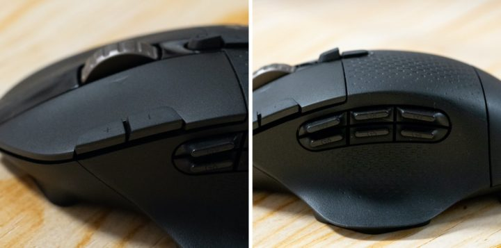 Logicool G604の他ボタン