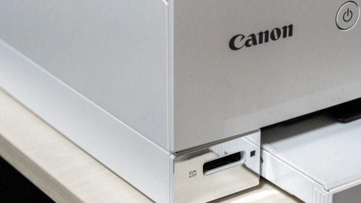 PIXUS TS8330 サイドにもライン加工が施されており高級感がある