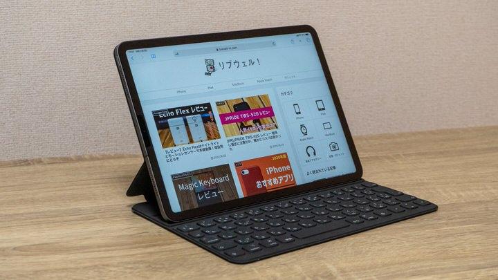 iPad ProのSmart Keyboard Folio