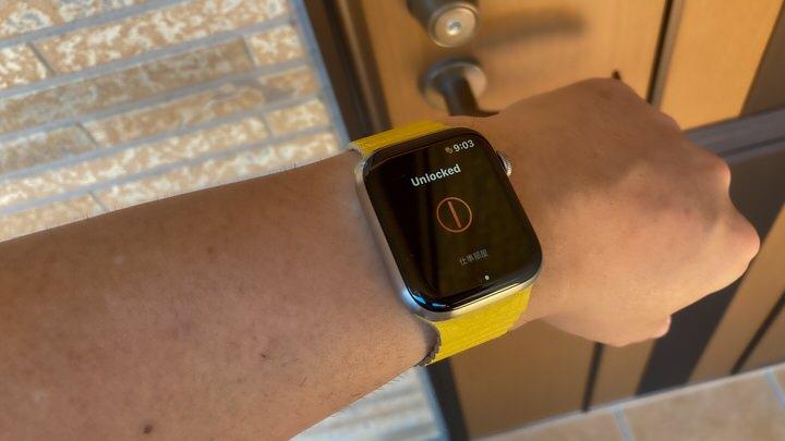 Sesame miniをApple Watchで操作