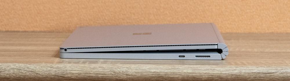 Surface Book 3 ヒンジ部分にスキマができる