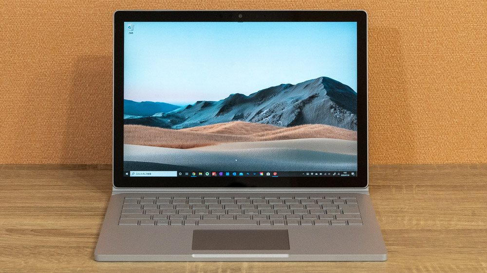 Surface Book 3 正面から