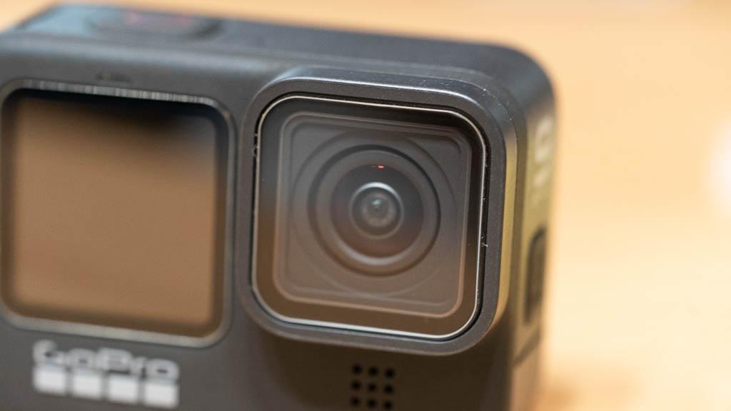 GoPro HERO9に保護フィルムを貼り付け5