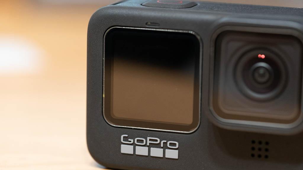 GoPro HERO9に保護フィルムを貼り付け4