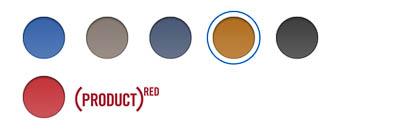 iPad(第8世代) レザーSmart Coverのカラーバリエーション