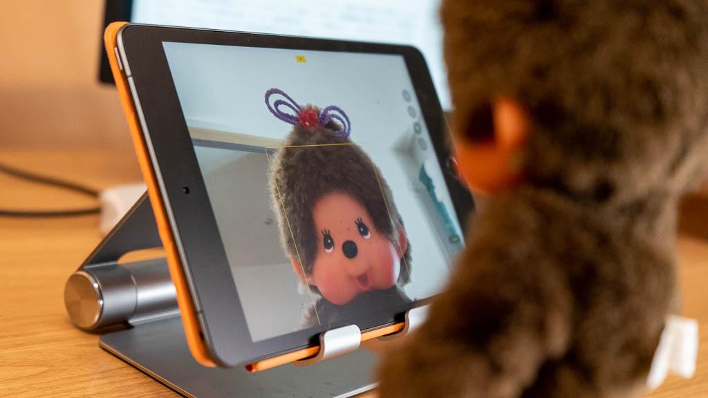 iPadでビデオ通話