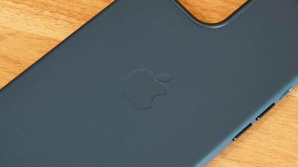 MagSafe対応iPhone 12 Pro Maxレザーケース りんごマーク