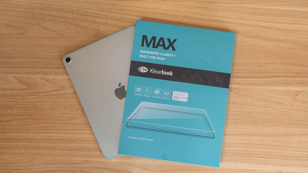 【KlearLook】アンチグレアガラスフィルム iPad Air 第4世代