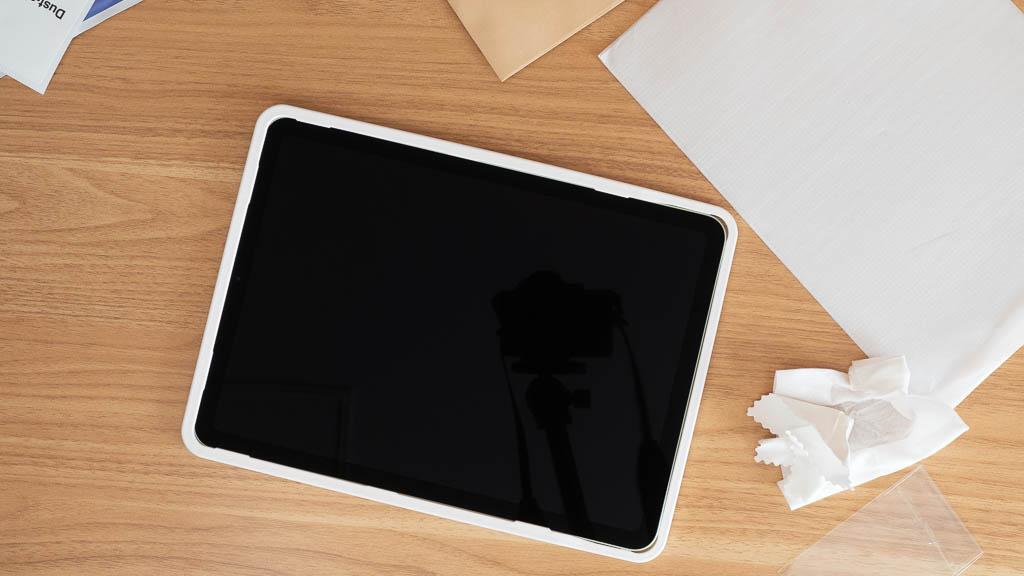iPad Air 第4世代の保護フィルムはガイド枠付きがおすすめ