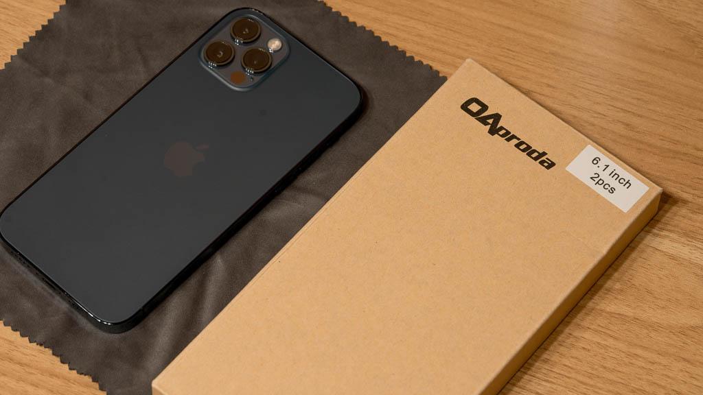 OAproda iPhone 12 ガラスフィルム
