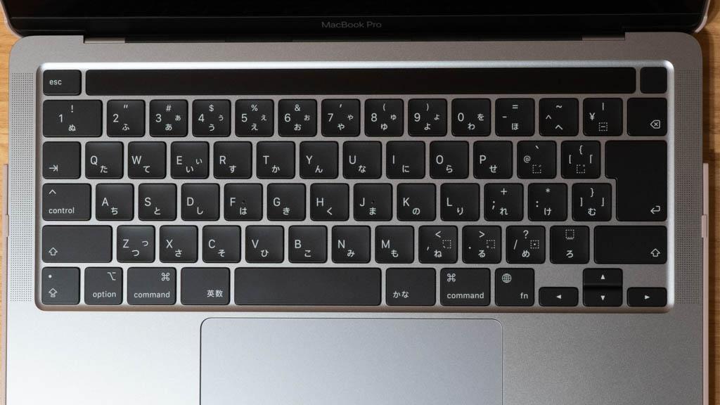 MacBook キーボードカバー 未装着時
