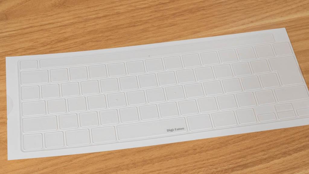 MacBook キーボードカバー 半透明