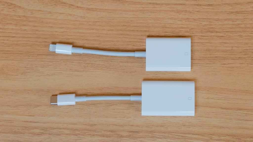 Apple Lightning - SDカードリーダーとUSB-C - SDカードリーダー