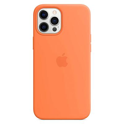 【Apple】MagSafe対応iPhone 12 Pro Maxシリコーンケース