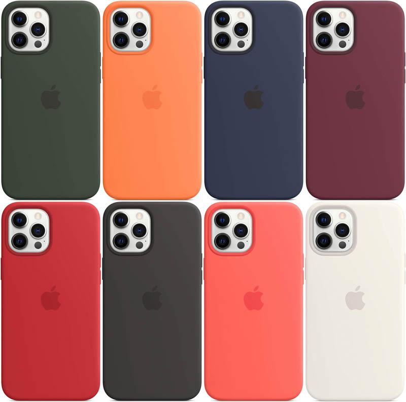 iPhone 12 Pro Max Appleシリコンケース カラーラインアップ