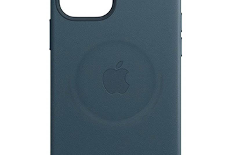 Appleレザーケース MagSafe充電器の跡