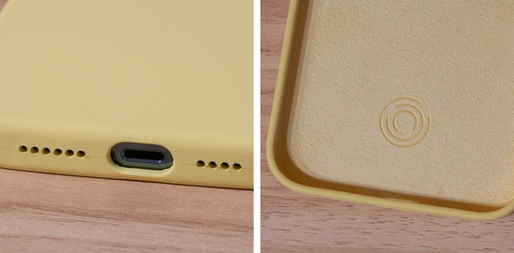 ORNARTO iPhone 12 Pro Max シリコンケース