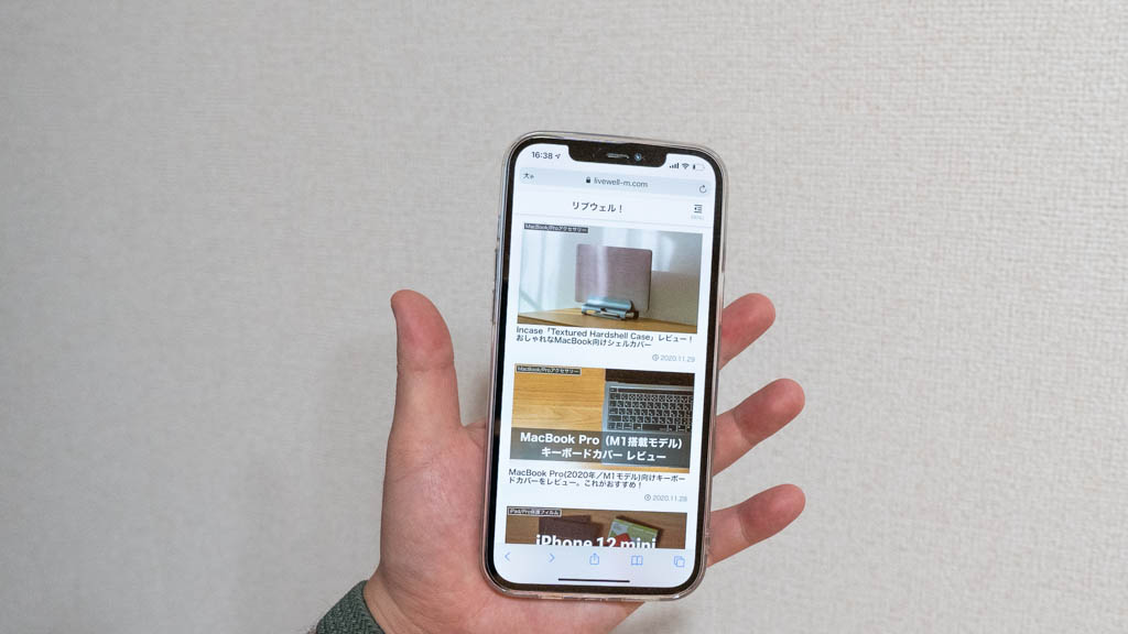 スマホリング搭載iPhone 12 Pro Maxケースで安心