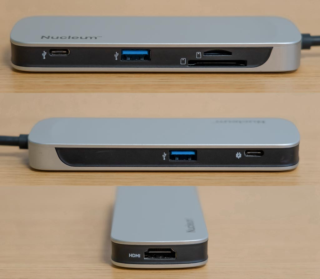 Kingston Nucleum 7 in 1 USB-Cハブ 2
