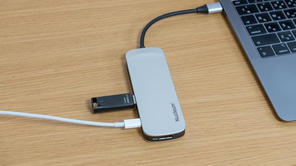 Kingston Nucleum 7in1 USB-Cハブ