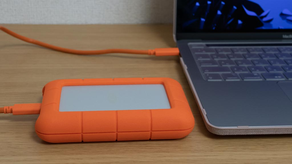 LaCie Rugged USB type C