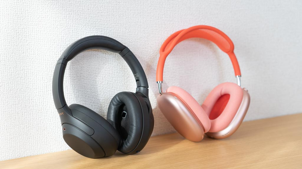 SONY WH-1000XM4とApple AirPods Max