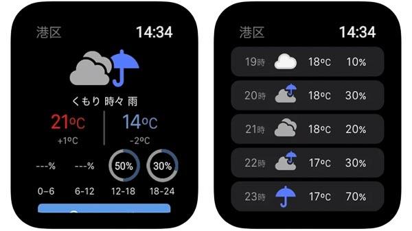 Yahoo!天気【雨雲レーダーを確認】