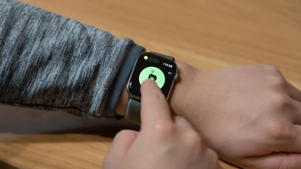 Apple Watch トランシーバーアプリを使う