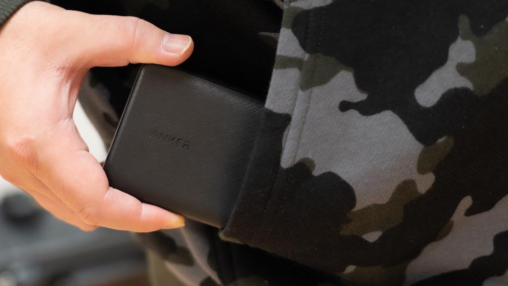 PowerCore Slim 10000 PD 20W ポケットに収まりやすい