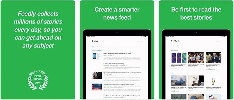 Feedly┃気になるサイトの更新情報をいち早く確認 iPadおすすめアプリ