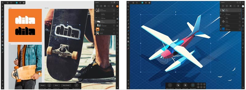 Affinity Designer [iPadとApple Pencilに最適化されたグラフィックデザインアプリ]