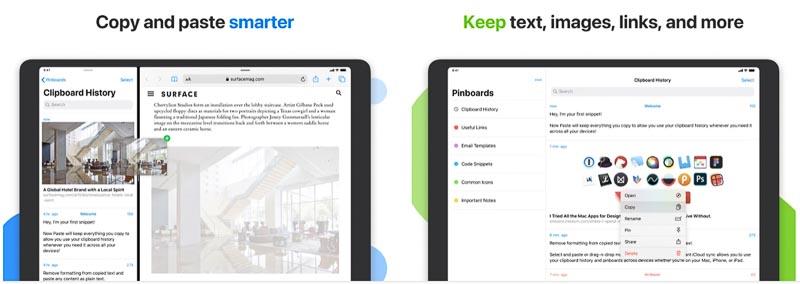 Paste┃パソコンライクに使うなら必須のコピペツール iPadおすすめアプリ