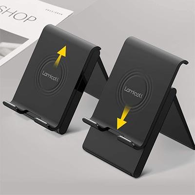 【Lomicall】スライド式で高さ調節可能なiPadスタンド