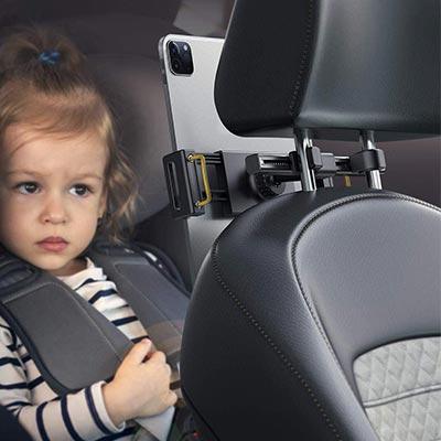 【Lomicall】iPadをヘッドレストに固定できる車載ホルダー