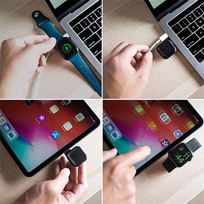 【Maco】USB-C対応!コンパクトなApple Watch充電器