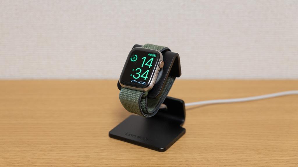 Apple Watch充電器(スタンドタイプ)