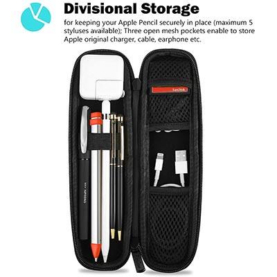 【ProCase】Apple Pencilと周辺アクセサリーを持ち運べるケース