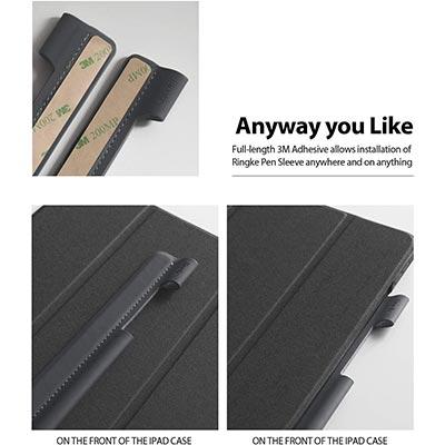 【Ringke】iPadにケースに貼り付けられるApple Pencilケース