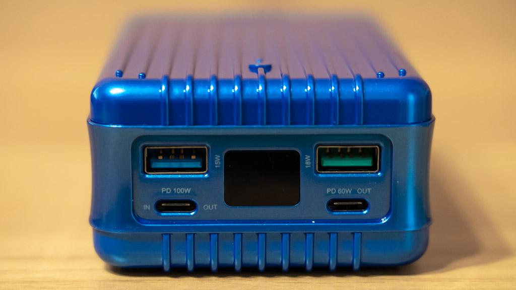 Zendure SuperTank 100W充電対応のモバイルバッテリー